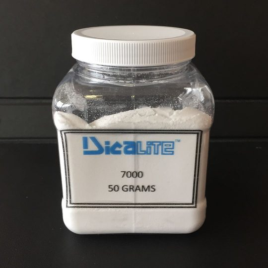 Flux-Calcined Diatomaceous Earth