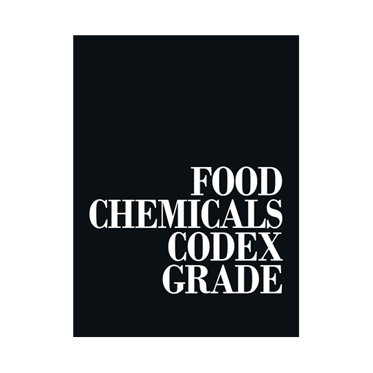 Food Chemicals Codex Grade