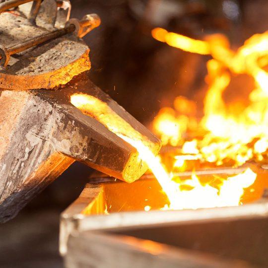 Molten Steel Insulation