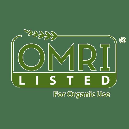 OMRI Listed For Organic Use